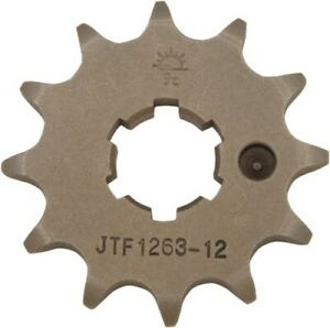 JT 12T Steel Front Sprocket 12 JTF1263 12 24-9128 1212-0215 55-126312 JTF1263-12