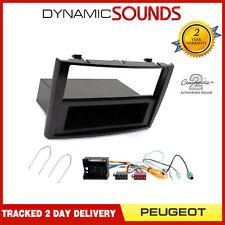 Doble DIN coche estéreo montaje Facia Y Calentador reubicación Porsche Boxster 986