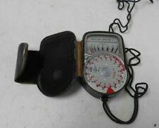 Weston Master V Universal Light Meter in case E14