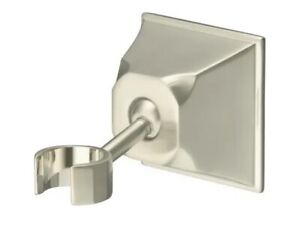 Kohler K-422-BN Memoirs Brushed Nickel Wall Mount Handshower Bracket Holder