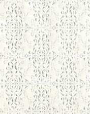 Dolls House paper    Embossed Ceiling Paper     PP54  (plain white in colour)