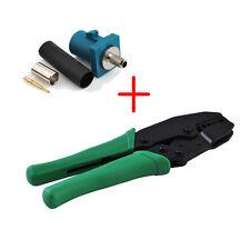 Crimper crimping tool 336V -RG178 RG316 RG174 LMR100 +10x FAKRA Z male connector