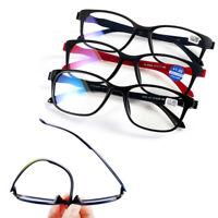 Bifocal Magnifying Reading Glasses +1.00~+4.0 Diopter Vision Care Eyeglasses