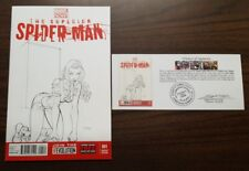 "Superior Spider-Man #1 Chris Ehnot ""Mary Jane"" Original Sketch Variant with Cert"