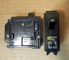 New In Box Square D Hom120 1 pole 20 amp 120/240V Circuit Breaker