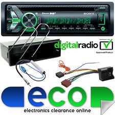 Peugeot 207CC 06-12 DAB Sony Bluetooth CD MP3 USB Automóvil Estéreo Kit De Montaje & Facia