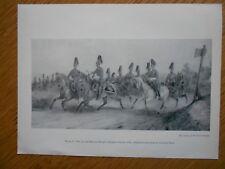 VINTAGE MILITARY PRINT- 7TH PRINCES ROYAL'S DRAGOON GUARDS 1867 BY ORLANDO NOIRE