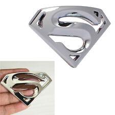 1pc Superman Logo Sticker Badge Emblem Decals 3D Chrome Metal Car sticker