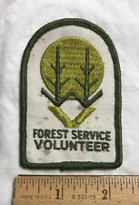 US Forest Service Volunteer National Parks Embroidered Souvenir Patch