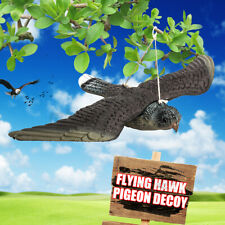 Hanging Flying Fake Bird Hawk Decoy Weed Pest Control Repellent Garden Scarer Us