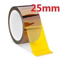 DZ935 25mm 100ft Kapton Tape BGA High Temperature Heat Resistant Polyimide Gold☆