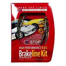 Goodridge G-Stop Stainless Brake Line Kit fits Nissan 370Z Sport 09-12 22075