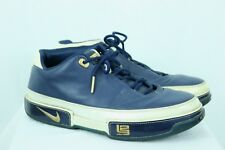 Nike Mens Zoom Lebron Low ST Navy / White / Gold Size 10 King James Euro 44