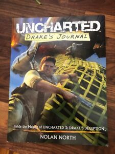 RARE! Uncharted: Drake's Journal Book by Nolan North - NOT SIGNED