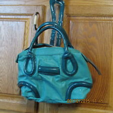 BCBGeneration 2 tone TEAL BLUE GREEN Purse Handbag