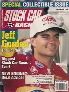 SCR COLLECTIBLE ISSUE NASCAR CHAMPION JEFF GORDON MAGAZINE - 4 TIME CHAMPION