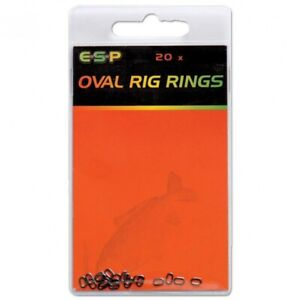 ESP Oval Rig Rings: 6mm Clearance Pack