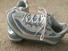 Skechers Shape Ups Shoes Ladies Woman's Tennis Athletic Gray White SZ 8 US 5 UK