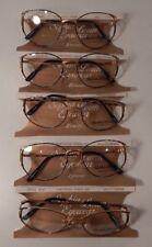 Vintage 5 pc. Sophia Loren M47 Portofino Green 53/17 Eyeglass Frame Lot Nos