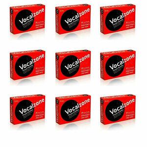 Vocalzones Vocalzone Throat Pastilles Helps keep clear Voice same day dispatch