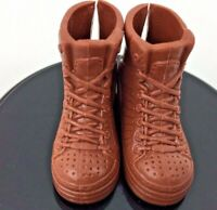 Barbie Ken Doll Brown Boots Hiking Camping Street Style Faux Laces Fashionista