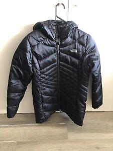 The North Face 550 Down Ladies Hoodie Puffer Jacket - Medium