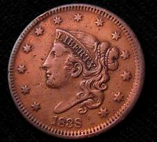 1838 LARGE CENT - XF+ DETAILS  #16304