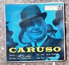 """17850 45 giri - 7"""" - Enrico Caruso - I pagliacci - Aida ecc..."""