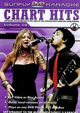 Sunfly Karaoke DVD Chart Hits Vol.14 (DVD) - DIRECT FROM SUNFLY