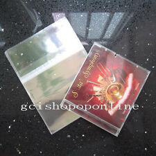 25 PCS Resealable outer plastic sleeve bag for JAPAN MINI LP CD LPS CDS