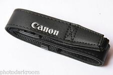 "Canon 3/8"" Nylon Web and 7/8"" Pleather Camera Strap - NEW Bulk Packaging C114"