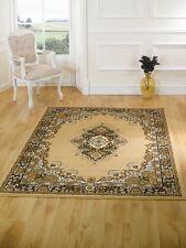 Traditional design, 180x250cm. Beige Lancaster Element rug. Hard wearing, Value.