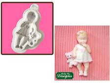 Katy Sue Designs Baby Girl Mould    NEXT DAY  DESPATCH