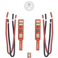 Jesse Dean Designs - Technics LED SMD Target Lights (Pack of 2) Red