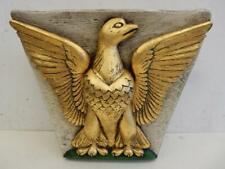 really old wall plinth shelf  gold EAGLE fine carved