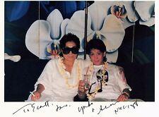 YOKO ONO Hand Signed Photograph - UACC RD #289