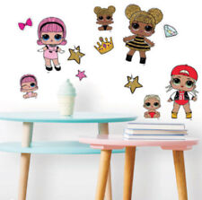 L.O.L SURPRISE! wall stickers 29 decals party girls sisters LICENSED LOL decor