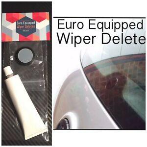 Wiper Delete Flush Bung Dewiper Blank Acrylic Audi A4 A6 Avant B7 B8