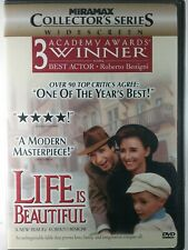 Life Is Beautiful Dvd. Like New!