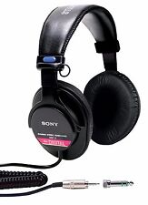Sony MDR-V6 Studio Monitor Headphones with CCAW Voice Coil - NEW