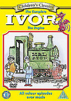 The Complete Ivor The Engine (DVD) All Colour Episodes Ever Made