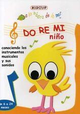 DO RE MI NIÑO - DVD - REGION 2 UK