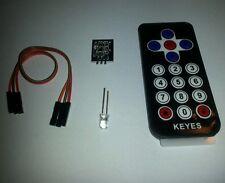 KEYES IR infrarosso telecomando Kit per Arduino 38Khz segnale Chip 93