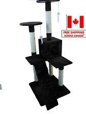 """Cat Tree iPet 51"""" Cat Condo Scratching Post Cat Furniture Pet House Cat Exercise"""
