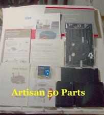 Epson Artisan 50 Printer Parts, Manual, Ink, Power Cord-Original