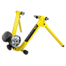 Cycleops Fluid Bicycle Exercise Trainer Bike Yellow Indoor Stationary 1021 NEW