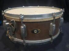 Vintage Slingerland Snare Drum from Estate 1950s Walnut Wood for Resto Barn Find