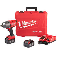 Milwaukee 2767-22 18-Volt 1/2-Inch M18 Friction Ring Impact Wrench Kit