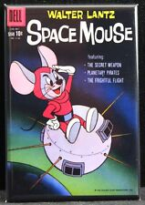 Space Mouse Comic Book Cover 2 X 3 Fridge Magnet.