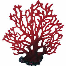 Red Marine Fan Coral Artifical Decor
